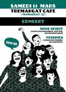 Affiche Wine Spirit / Les Voisines